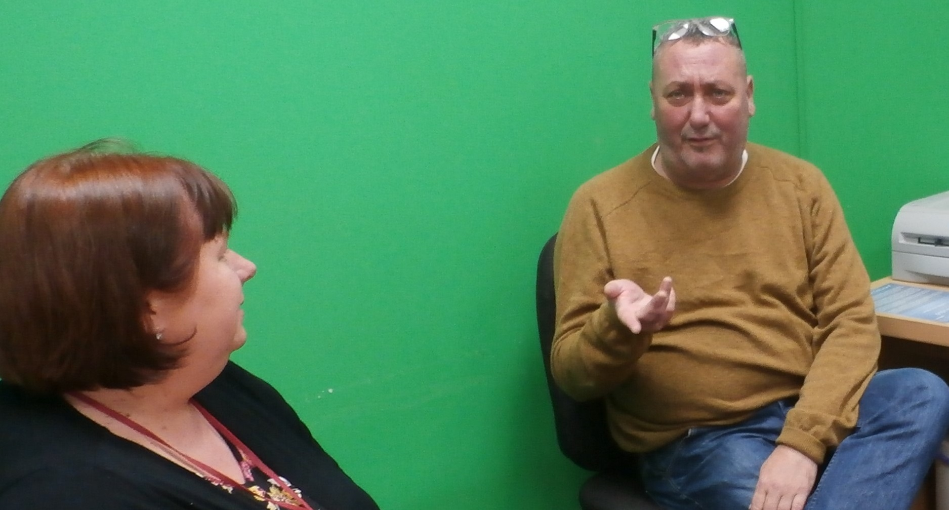 Interview between Libby and Innes