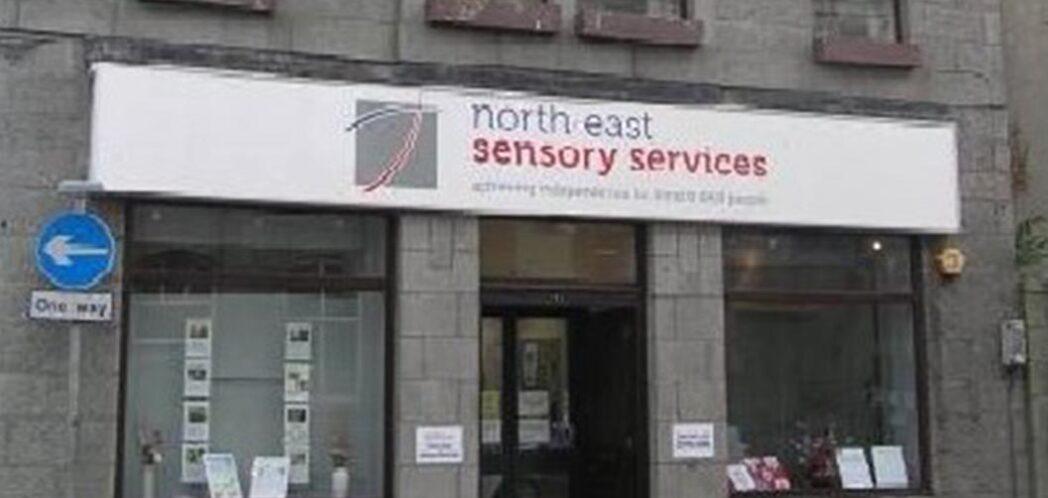 NESS' front doort at John Street, Aberdeen